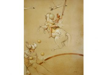 Michael Parkes-paintings-Circus.jpg