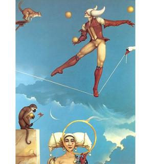 Michael Parkes-paintings-Illusion of Change.jpg